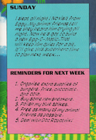 Sonic's Diary sun-wee