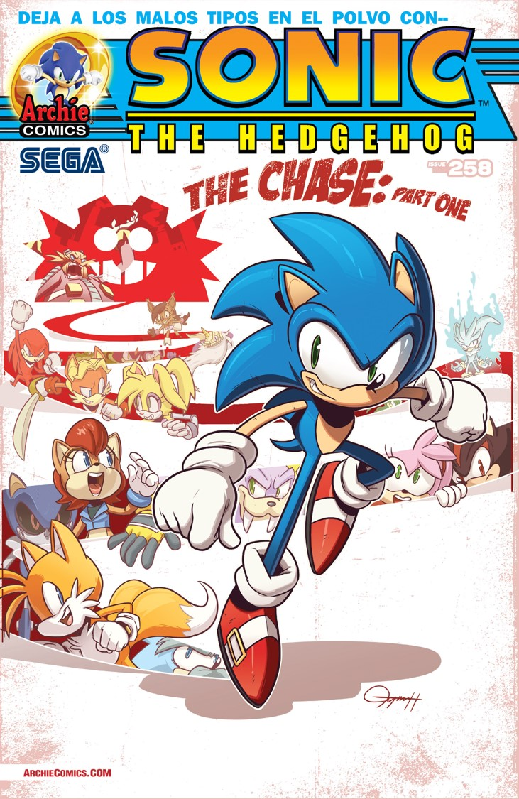 Archie Sonic the Hedgehog Issue 258