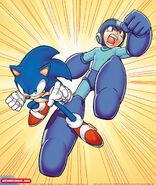 Sonic-and-mega-man