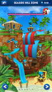 Sonic Dash Seaside Hill Zone restored