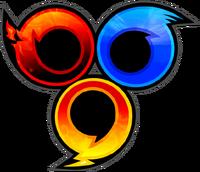 Sonic Heroes Artwork - Logo (No Text)