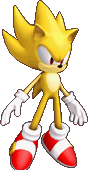 Super Sonic Colors Sprite