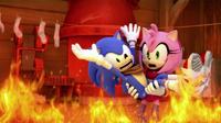 SB S1E43 Sonic Amy fire