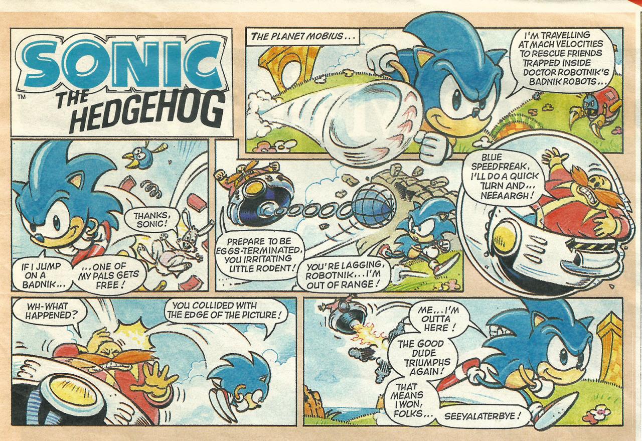 Sonic the Hedgehog (comic strip)