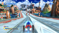Sonic Generations @ Seaside Hill Kart