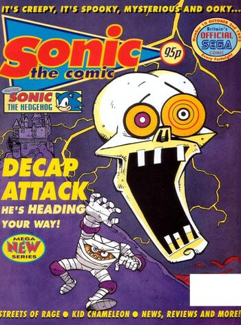 Sonic the Comic Issue 10