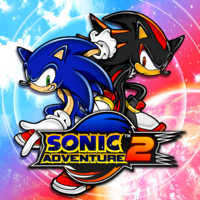 Sonic Adventure 2 box artwork