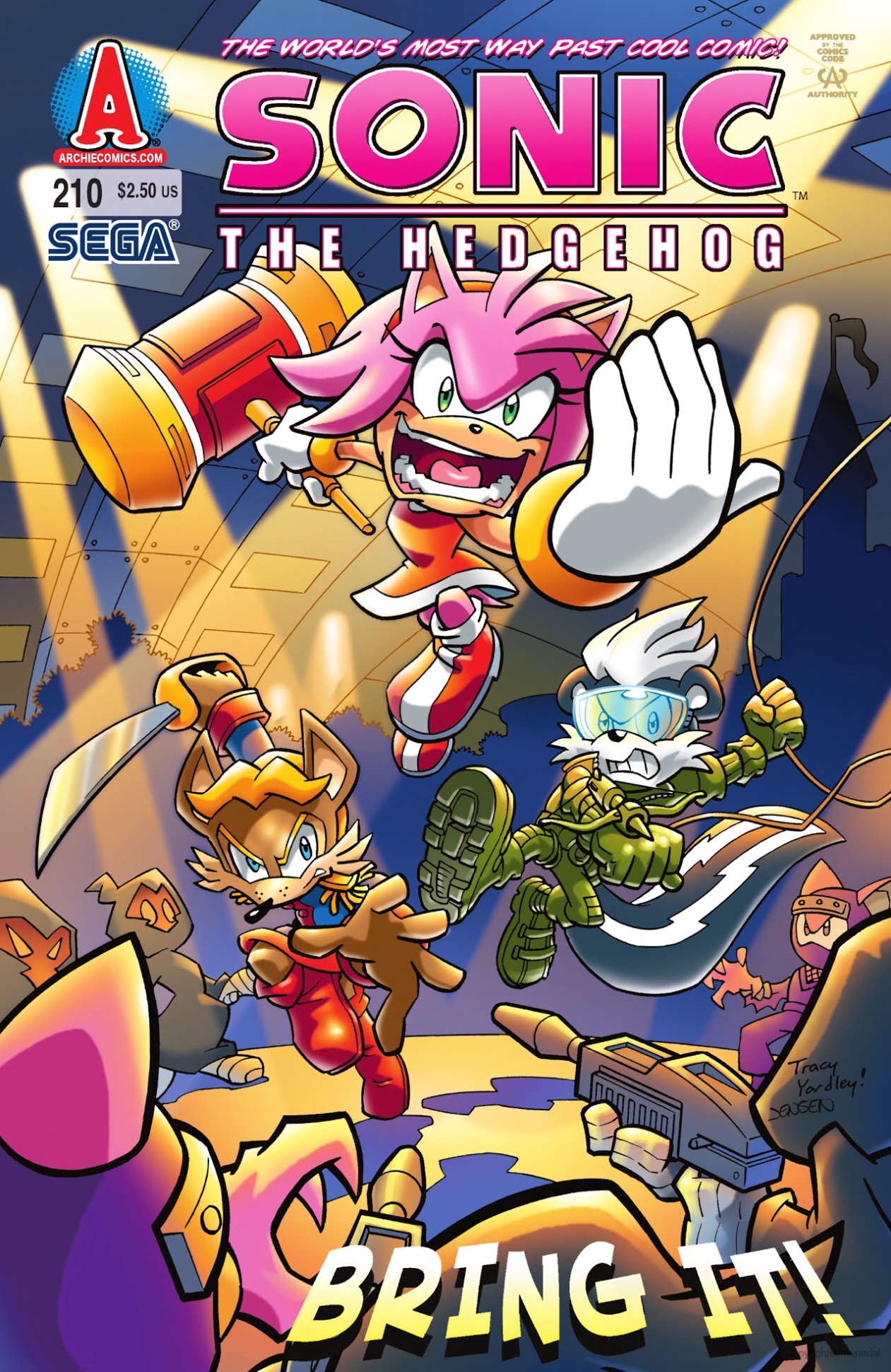 Archie Sonic the Hedgehog Issue 210