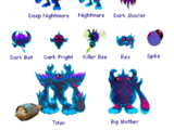 Dark Gaia's Minions