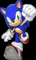 Sonic 25th Anniversary Render