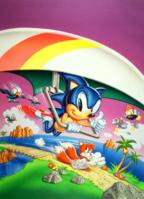 Sonic 2 8-bit art