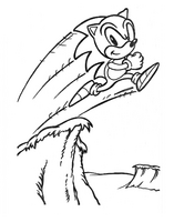 Sonic Paint 'N' Marker book - page 4