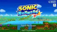 Sonic Runners screen 1