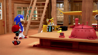 Tails fixing Cubot (Sonic Boom)