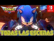 HISTORIA COMPLETA DE TEAM SONIC RACING EN ESPAÑOL - Nintendo Switch
