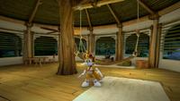 SB S1E12 Tails Sonic's shack night