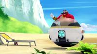 SB S1E19 Eggmobile Eggman beckon