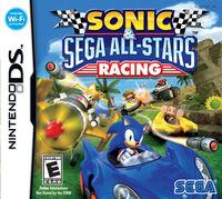 Sonic & SEGA All-Stars Racing - Nintendo DS Box Art