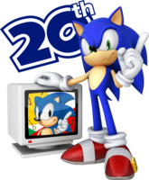 Sonic 20th number only