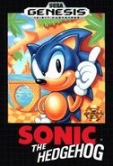 Carátula Sonic 1 (USA)