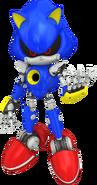 Metal Sonic FR art