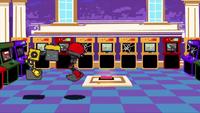 SB S1E23 Cubot Orbot arcade digital interior