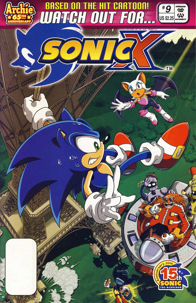 Archie Sonic X Issue 09