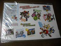 Sonic Heroes JP store displays