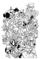 Sonic universe 75 varient cover by trunks24-d8kn68p