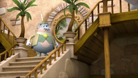 S1E44 Mayor stairs