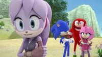 SB S1E43 Perci Sonic Knuckles Amy