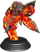 Sonic Generations Iblis Worm Statue