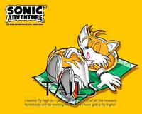 Tails Sonic Adventure 4w23q34
