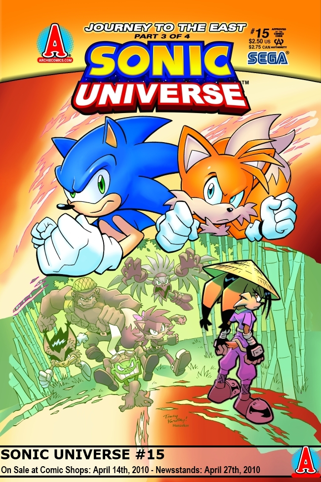 Sonic Universe Issue 15