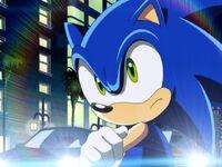 Sonic being stubbron like usually XD