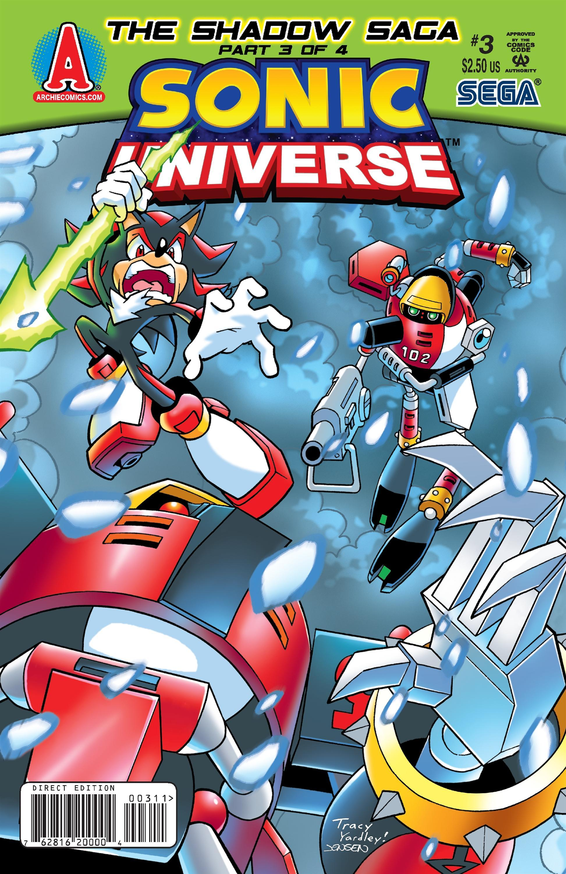 Sonic Universe Issue 3