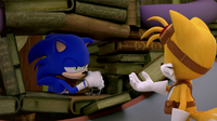 SB S1E50 Sonic Tails I grant you two minutes