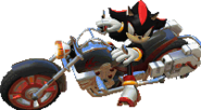Shadow Sonic and SEGA All-stars Racing DS