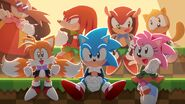Sonic 30th Symphony Art 1