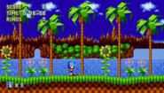 Sonic Mania Nuevo Green Hill Zone