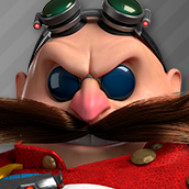 Eggman icon (Sonic Dash 2)