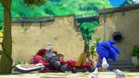 S1E41 Sonic defeat Obliterator Bot