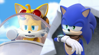 SB S1E05 Sonic and Tails communicate