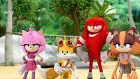 SB S1E19 Team Sonic unamused