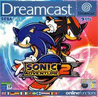 Sonic Adventure 2 European cover