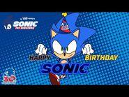 🎂🎂HAPPY BIRTHDAY SONIC!!!🎂🎂 – The Loud House's Sonic the Hedgehog