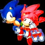 Sonic CD Sonic art 3.png