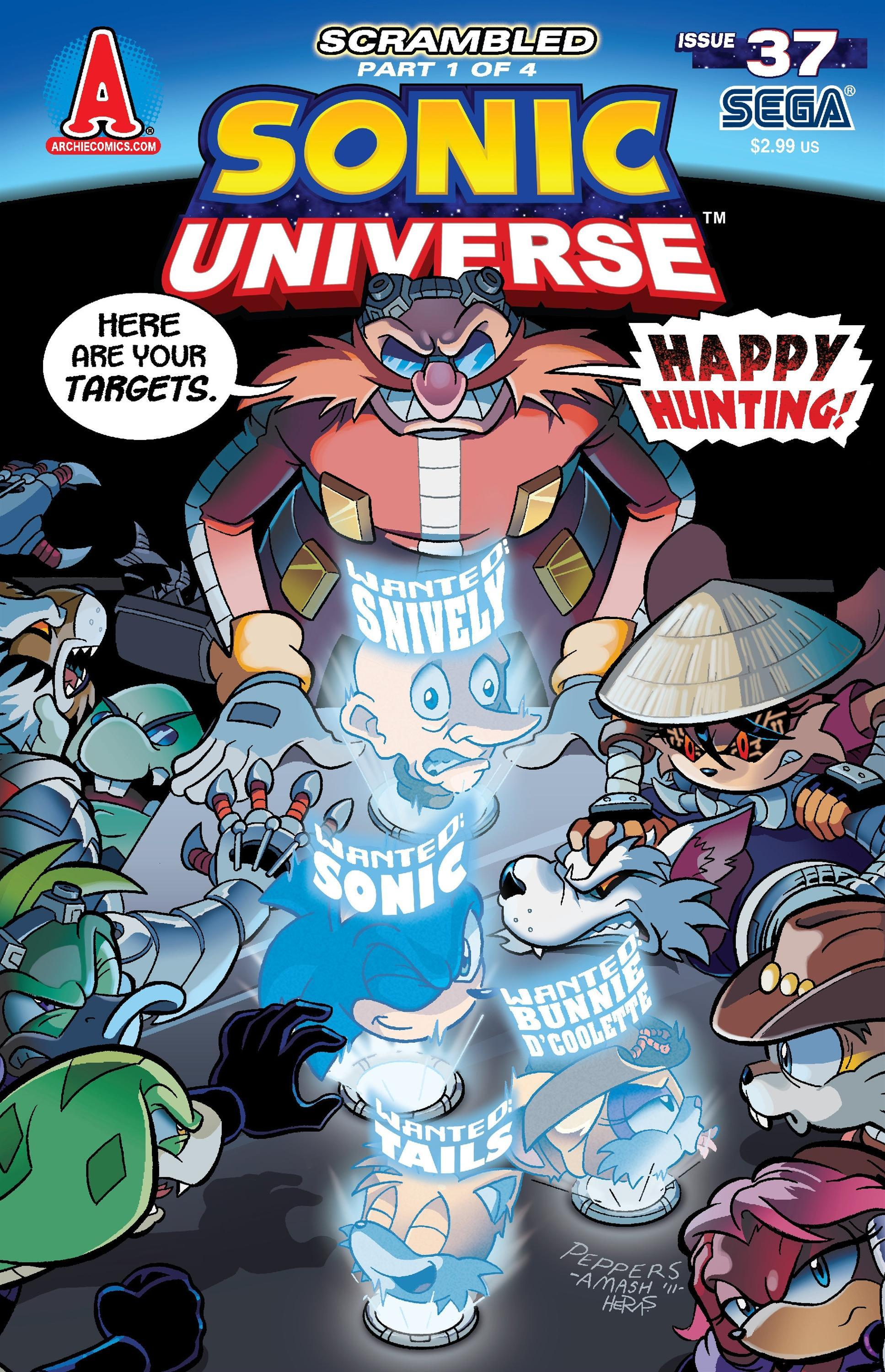 Archie Sonic Universe Issue 37