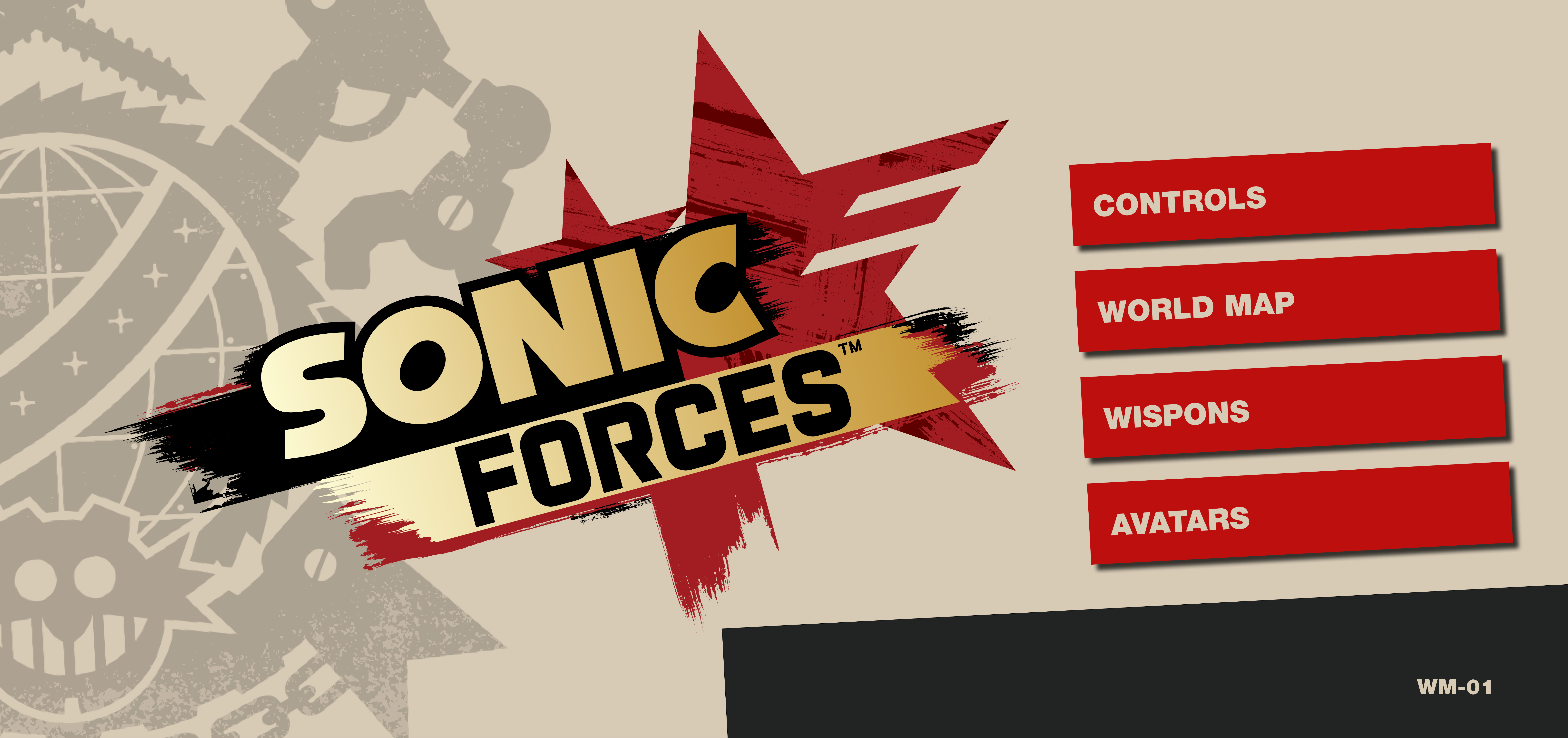 Sonic Forces/Manuals