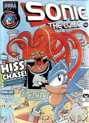 Sonic the Comic Issue 163